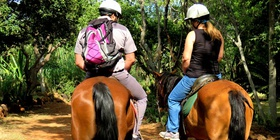 Romantic rides for couples at Harties Horse Trail Safaris